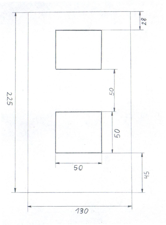 Zestaw prysznicowy podtynkowy termostatyczny deszczownica Ultra Slim Catido Vidi TR2 Cbox