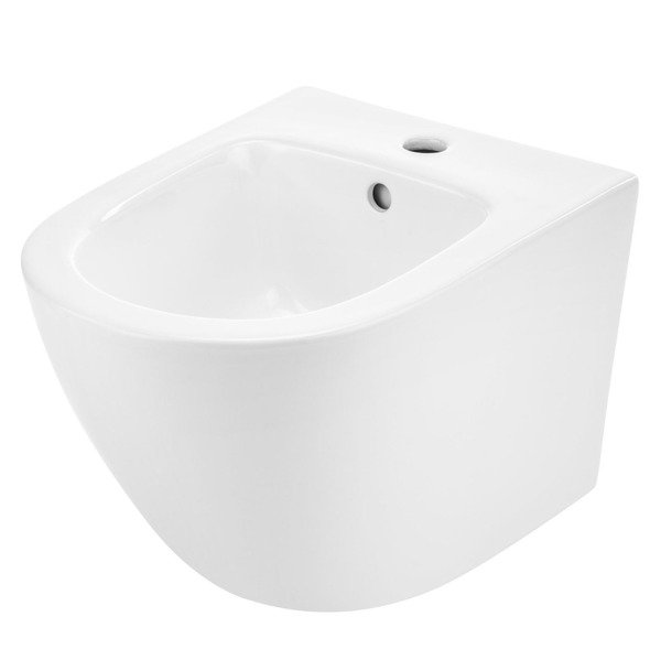 Bidet WC wiszący bez rantu Rimless Catido Simple 49 Bidet White