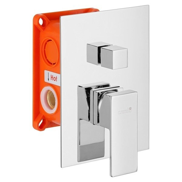 CATIDO Vidi Cbox PL1 Ultra Slim Concealed Shower Set
